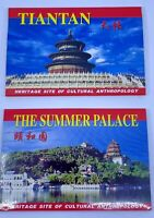 Postcards Tiantan & Summer Palace-Heritage Site Cultural Anthropology Lot of 20