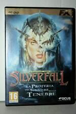 SILVERFALL EDIZIONE ORO GIOCO USATO OTTIMO PC DVD VERSIONE ITALIANA VBC 39294