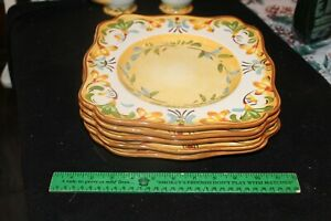 """Pier 1 Bellanina Square 10 1/2"""" Dinner Plate 9840945 REPLACEMENT"""