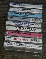 Cassette Tape lot of 9 albums Sawyer Brown INSTANT COLLECTION - EXCELLENT COND