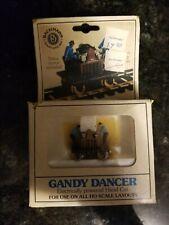 BACHMANN - GANDY DANCER - ELECTRICALLY POWERED HAND CAR - HO SCALE LAYOUT