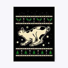 "Comfortable Christmas Japanese Bobtail Gift Poster - Gift Poster - 18""x24"""