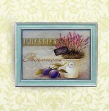 Home Decor Wall Painting Picture Canvas Wooden Frame Wall Art Lavender Design