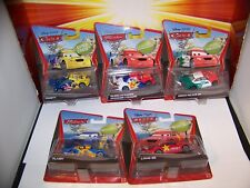 Disney Cars Super Chase Frosty Memo Rojas Vitaly Petrov Long Ge REAL Mattel 2012