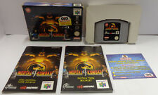 Gioco Game Console N64 NINTENDO 64 EUR PAL VERSION GIG Midway - MORTAL KOMBAT 4