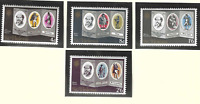 St. Helena Stamps Scott #232 To 235, Mint Never Hinged