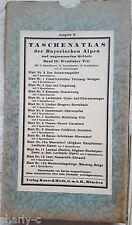 Taschenatlas der Bayerischen Alpen Bd. II: Westlicher Teil - Im Schuber