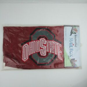 Ohio State Decorative Mailbox Cover NCAA College Buckeyes Sports Evergreen Flags