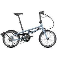 """Tern Unisex Fahrrad BYB P8 Faltrad 8 Gang 20"""" Blaugrau Klappfahrrad Kompakt Bike"""