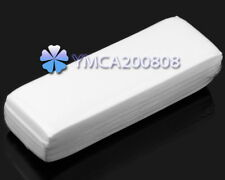 100pcs Wax Strips Woven Paper Hair Remover Depilatory Waxing Removal Epilator