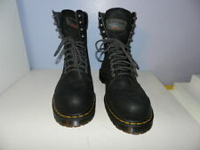 Dr Martens Industrial Steel toe Toed Work Boots Tall Lace Up Mens 13