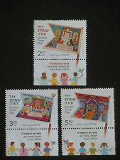 Israel 2014  New Year festivals, SIMCHAT TORAH FLAGS,set of 3 stamps,MNH