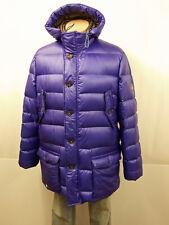 1200 € nuevo Habsburg vestidos patentadas plumifero talla 52 us42 Parka capucha púrpura