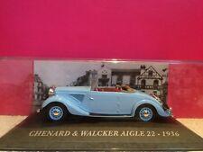 SUPERBE CHENARD & WALCKER AIGLE 22 1936 NEUF EN BOITE 1/43 V2