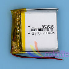 5pcs Lipo Liion Polymer Battery Lithum 3.7V 700mAh 803030 Rechargeable for GPS