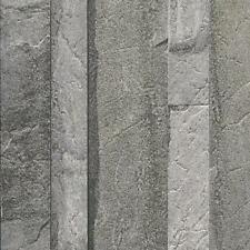 Galerie Bluff Long Stone Textured 3d Effect Wallpaper J21619