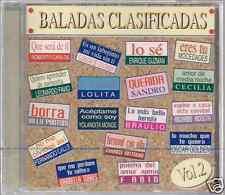 CD 60's 70's 80's CLAUDIA DE COLOMBIA Lolita BRAULIO Billy Pontoni SANDRO Fabio