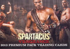 SPARTACUS VENGEANCE 2013 RITTENHOUSE ARCHIVES PREMIUM PACK PROMO CARD P1
