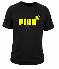 T shirt t-shirt Pika pikachu pokemon ala puma pockemon go