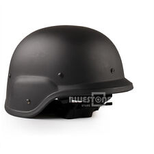 Army Military Tactical Gear Airsoft Paintball SWAT Protective FAST Helmet Black