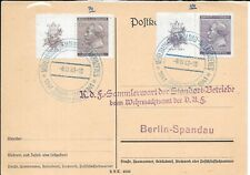 BOHMEN UND MAHREN 1941 COVER TO BERLIN