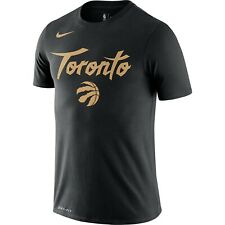 New Men's 2020 Toronto Raptors Nike City Edition Logo DFCT Performance T-Shirt