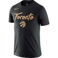 New Men's 2020 Toronto Raptors Nike City Edition Logo DFCT Performance T-Shirt
