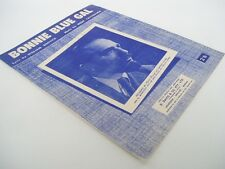 BONNIE BLUE GAL - sheet music feat. MITCH MILLER