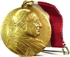 """Roma (Giovanni XXIII """"il PAPA Buono"""") Medaglia 1969"""