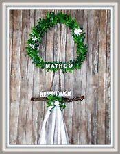 Türdeko Baum, Kommunion, Konfirmation Taufe Tischdeko Hochzeit Türkranz, Name