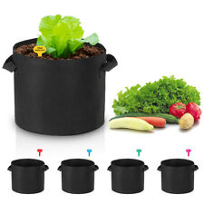 5 Packs Lagarden 5 Gallon Planting Bag Planter Pot Plant Pouch Potato Garden