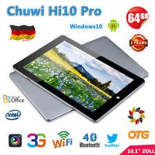 10,1 Zoll Chuwi Hi10 Pro Win10+Android5.1 4+64GB HDMI Tablet PC WIFI+3G 2xKamera