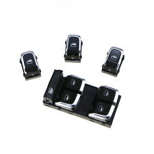 Driver Glass Master Control Electronic Switch Button Set For AUDI A4 S4 B8 Q5