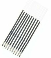 5 x Black Ballpoint Pen Ink Refill 10.7cm Replacement Inks Retractable Pens