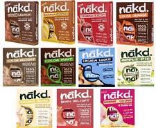 Nakd FRUTTA & DADO BARRE lettere maiuscole e minuscole selezione 44 BARRE * vegan, RAW, grano gratuito *
