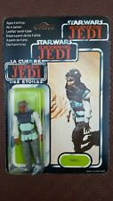 Star Wars Nikto Return of the Jedi ROTJ Tri logo 70 Back MOC Palitoy Jabba