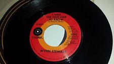 WYNN STEWART Baby It's Yours / I Was The First One To Know CAPITOL 3080 45