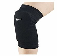 X2 Mizuno Japan Volleyball Knee Supporter with Pad V2MY8003 Black White Size:M