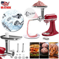 Stainless Steel Meat Grinder Food Chopper Attachment For Kitchenaid Stand Mixer