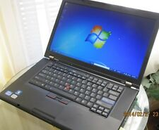 Lenovo ThinkPad T510 LAPTOP Core i5 2.4GHz 160GB 6GB WIN 7 PRO OFFICE WI-FI DVD