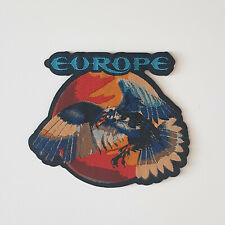 Patch Europe - Wings Of Tomorrow, the final countdown hard rock metal bans swede