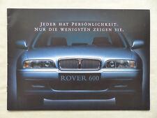Rover 600 618 620 Classic Limited Edition MJ 1998 - Prospekt Brochure 10.1997