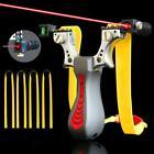 Outdoor Steinschleuder Zwille Katapult Sportschleuder Laser Jagd Schleuder-Profi