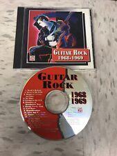 Guitar Rock 1968-1969 Cd Time Life Jeff Beck Mc5 Deep Purple Steppenwolf Mint