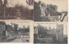Lot 4 cartes postales anciennes CLISSON 2