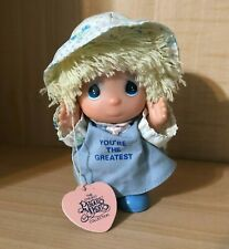 "Enesco Precious Moments Collection Hi Babies Doll, ""You're The Greatest"""