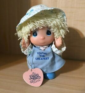 """Enesco Precious Moments Collection Hi Babies Doll, """"You're The Greatest"""""""
