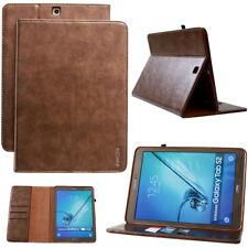 """COVER in pelle per Samsung Tab s2 8,0"""" GUSCIO PROTETTIVO CUSTODIA TABLET SMART CASE"""