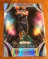 Zion Williamson 2019 20 Panini Prizm fireworks #26 RC rookie disco prizm PSA 10?