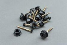 50 schwarze Spanplattenschrauben LINSENKOPF EDELSTAHL A2 SCHWARZ 3,5X45 TORX